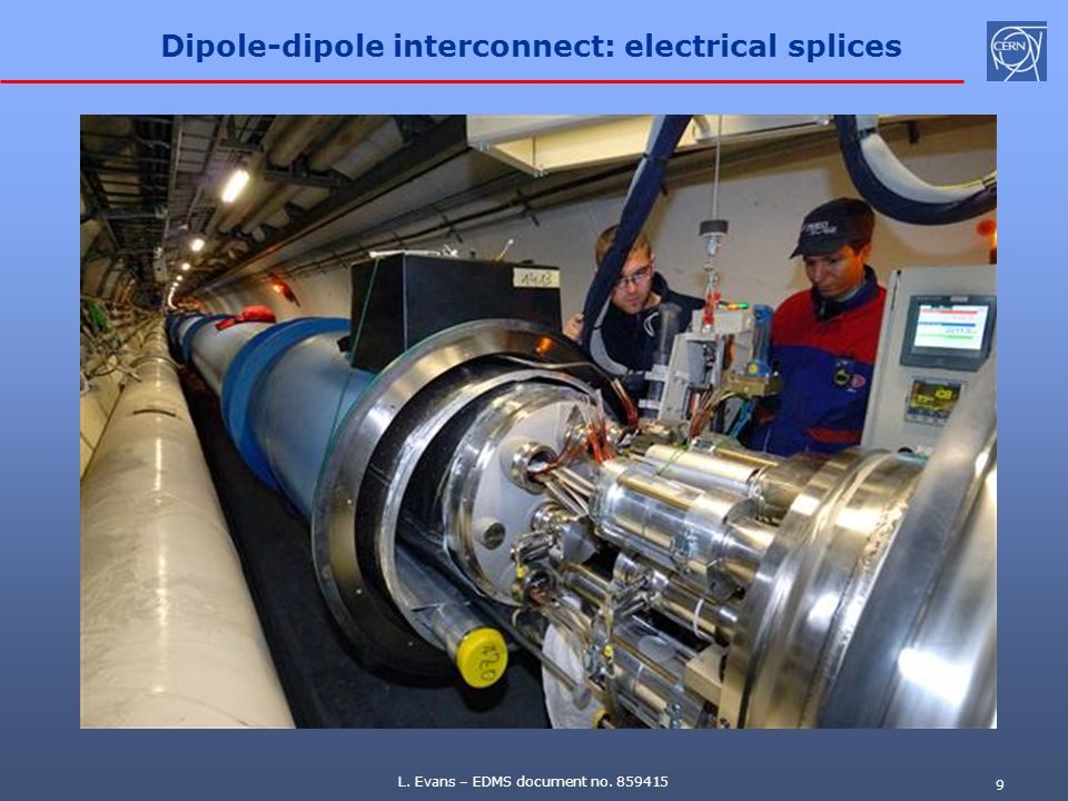 Dipole-dipole interconnect: electrical splices