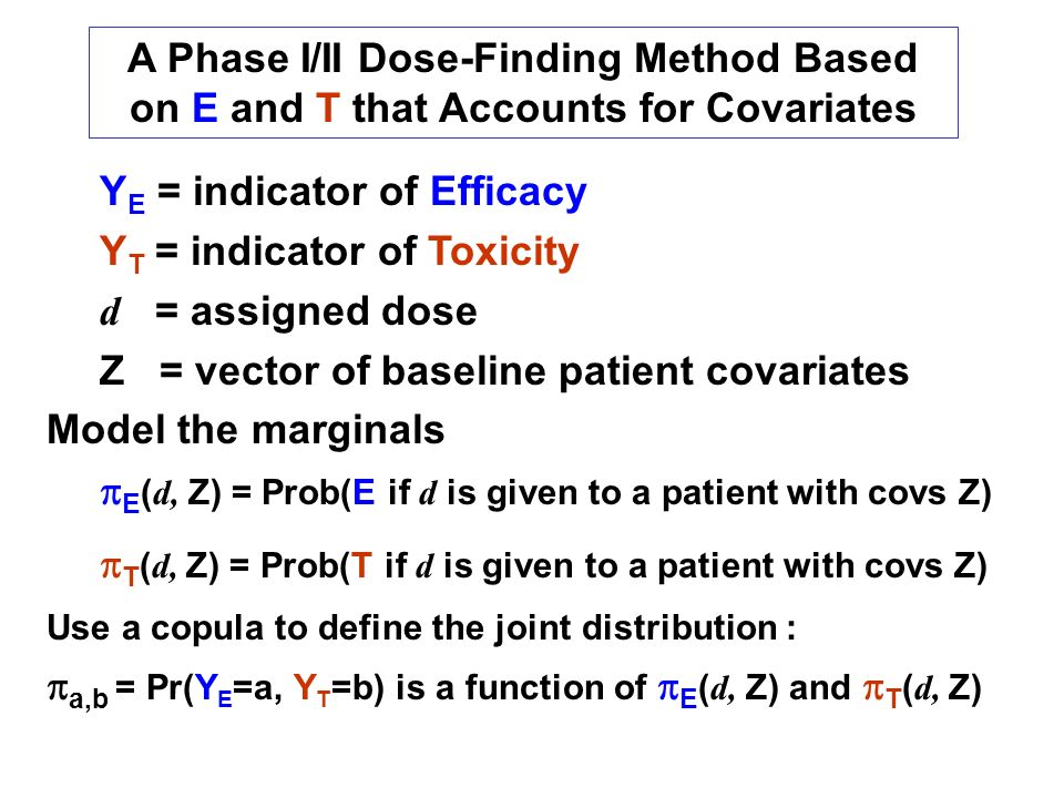 pT(d, Z) = Prob(T if d is given to a patient with covs Z)