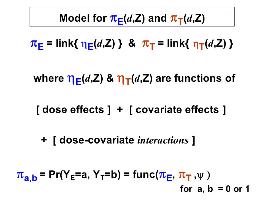 Model for pE(d,Z) and pT(d,Z)