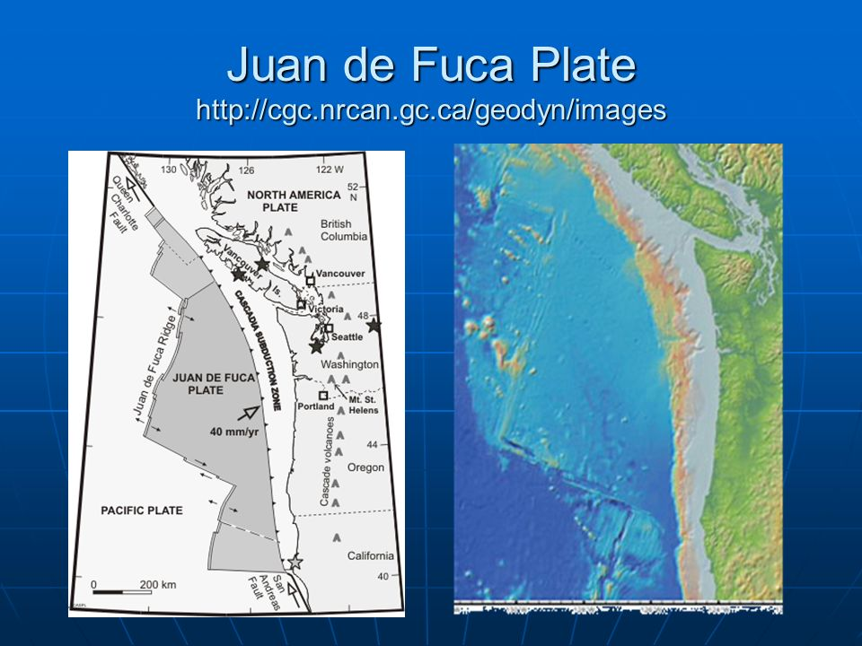 Juan de Fuca Plate http://cgc.nrcan.gc.ca/geodyn/images