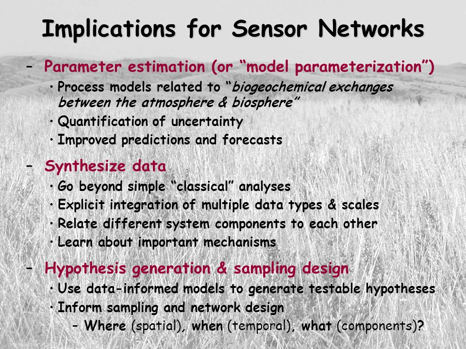 Implications for Sensor Networks