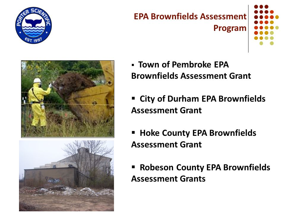 EPA Brownfields Assessment