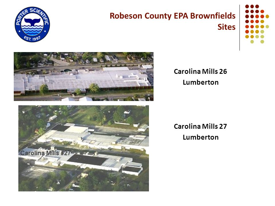 Robeson County EPA Brownfields