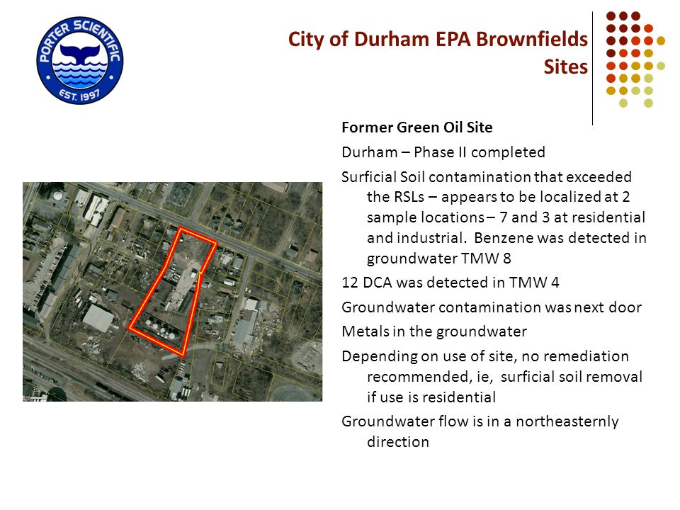 City of Durham EPA Brownfields