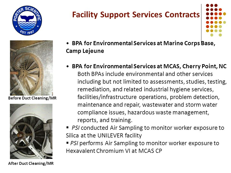 Facility Support Services Contracts