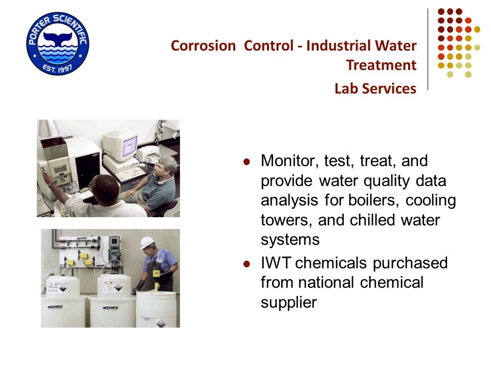 Corrosion Control - Industrial Water Treatment