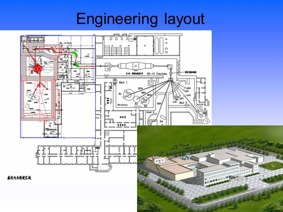 Engineering layout