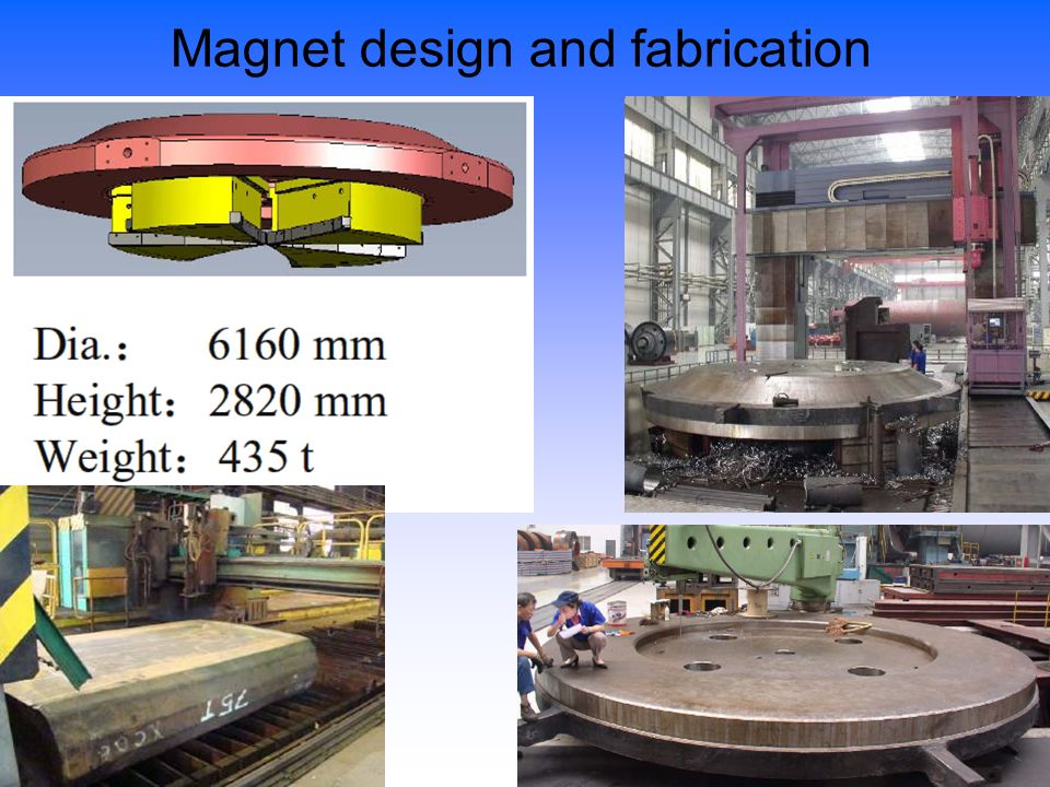 Magnet design and fabrication
