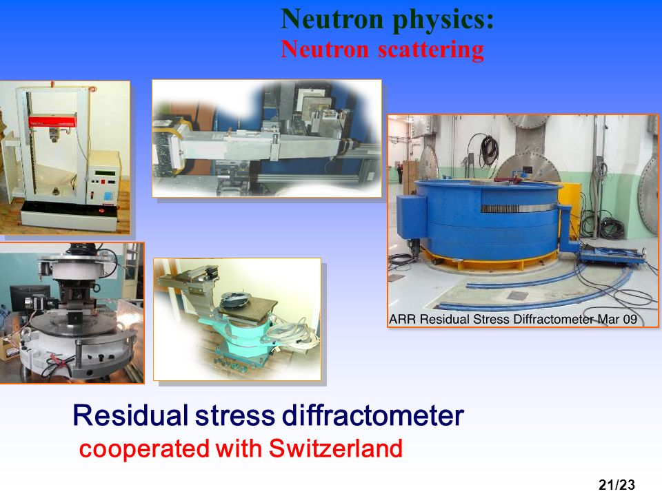 Residual stress diffractometer