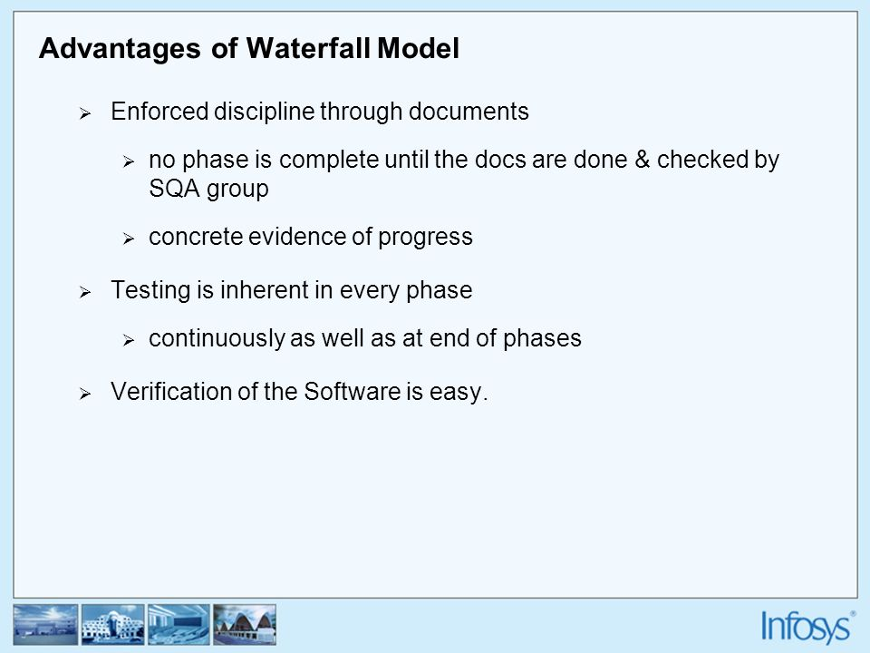 Sdlc a brief introduction ppt video online download for Advantages and disadvantages of waterfall model