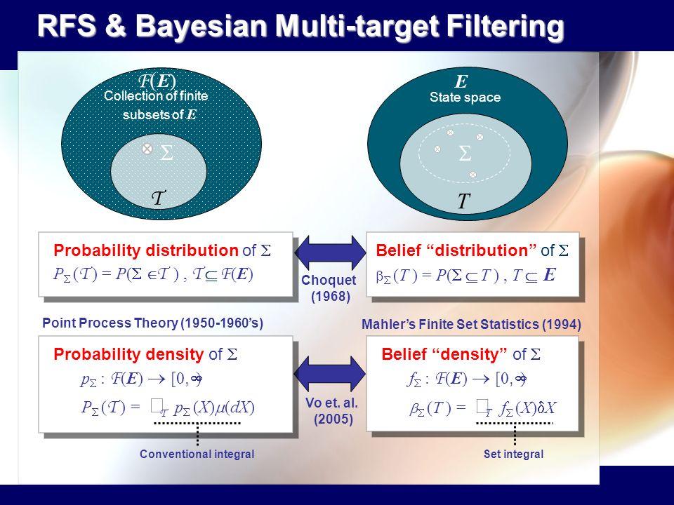RFS & Bayesian Multi-target Filtering