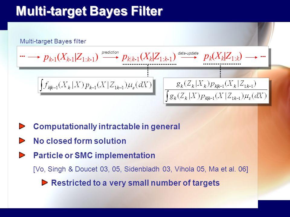Multi-target Bayes Filter