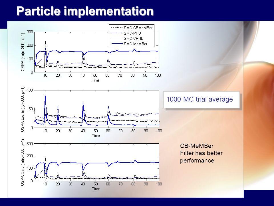 Particle implementation