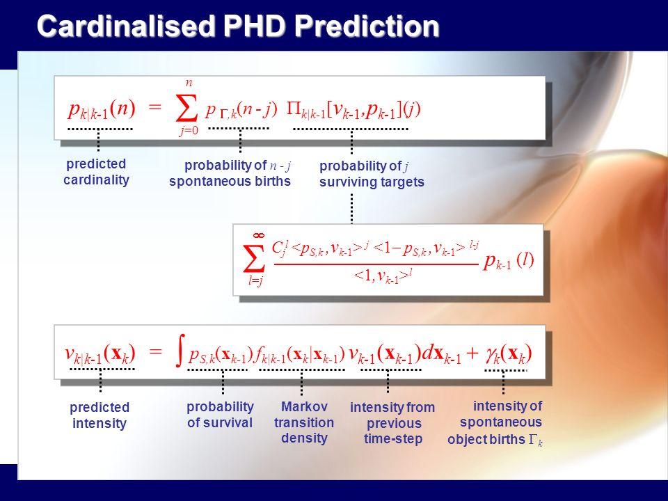 Markov transition density