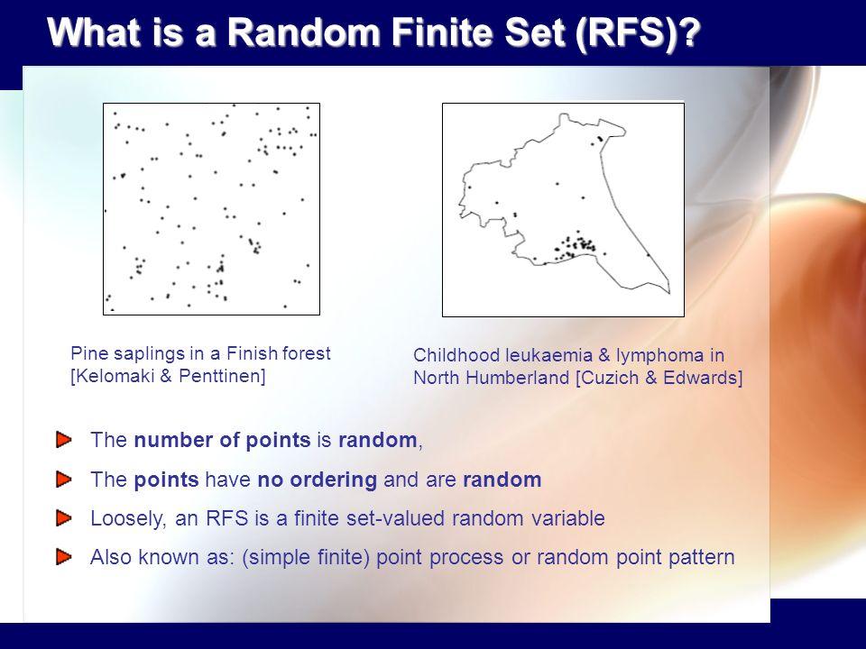 What is a Random Finite Set (RFS)