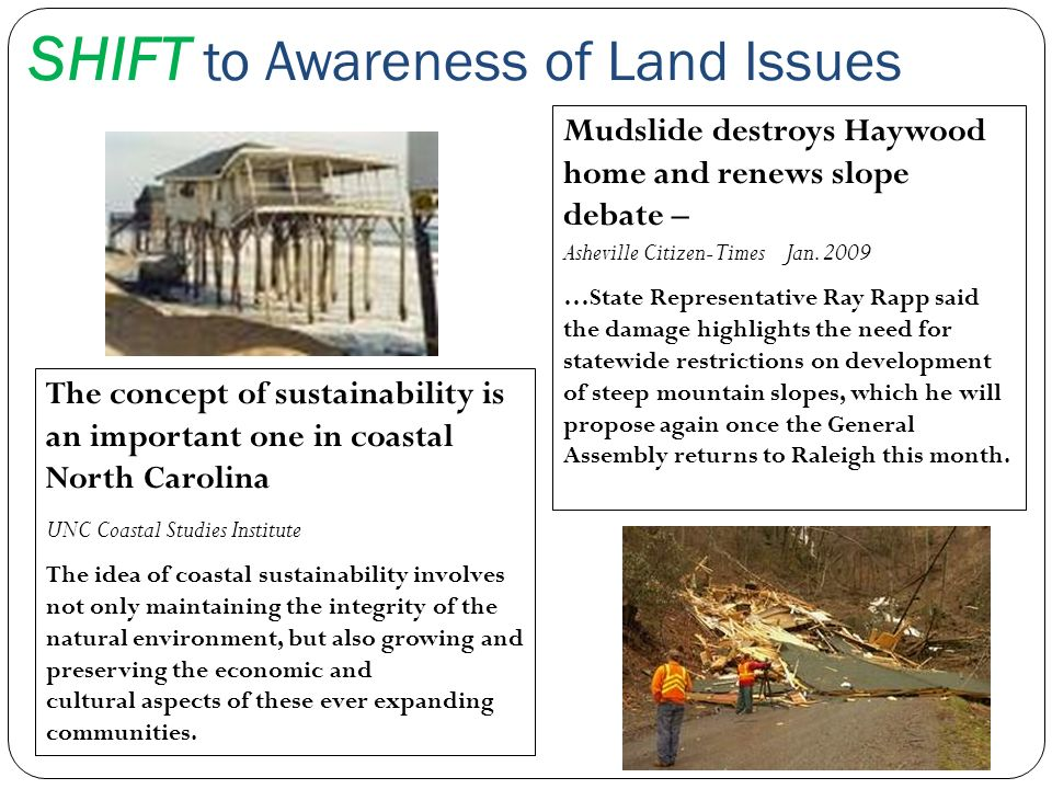 SHIFT to Awareness of Land Issues