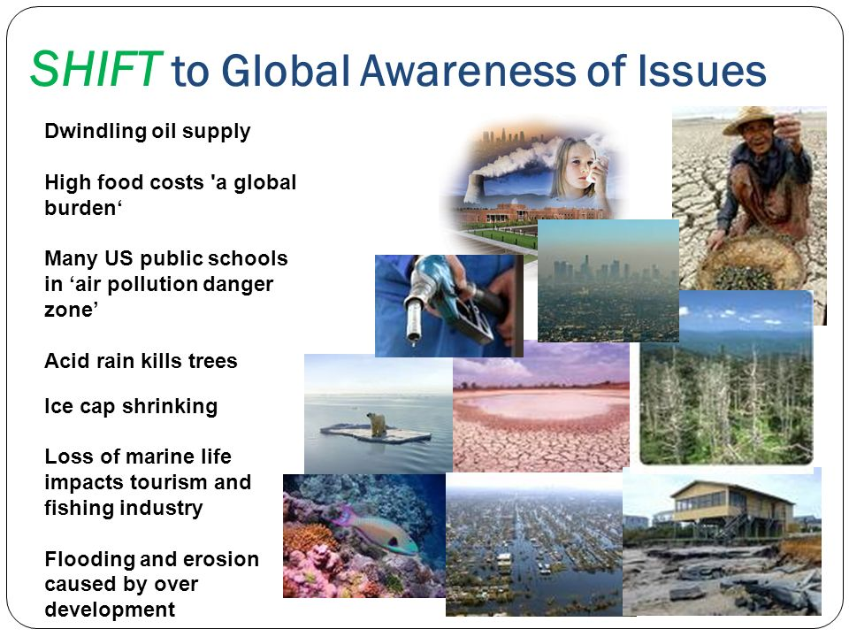 SHIFT to Global Awareness of Issues