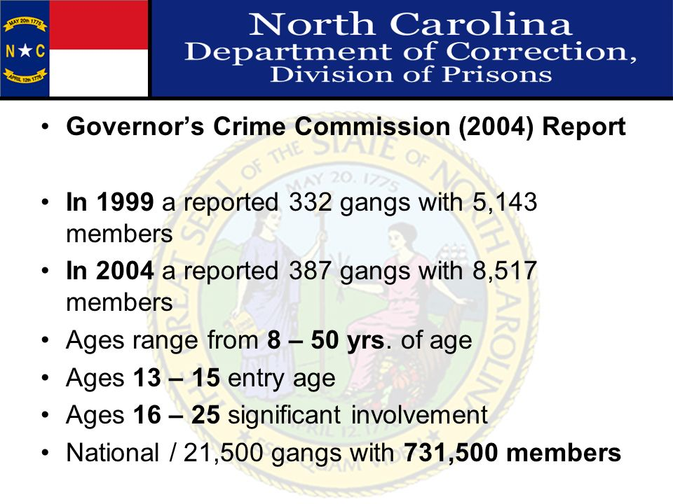 Governor's Crime Commission (2004) Report