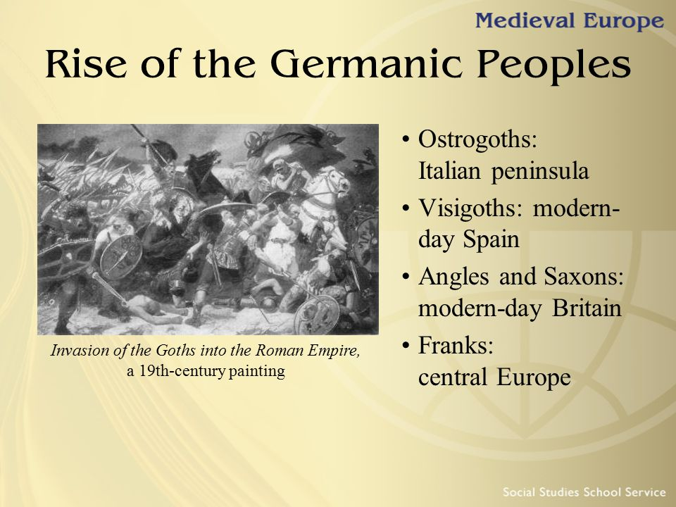 Rise of the Germanic Peoples