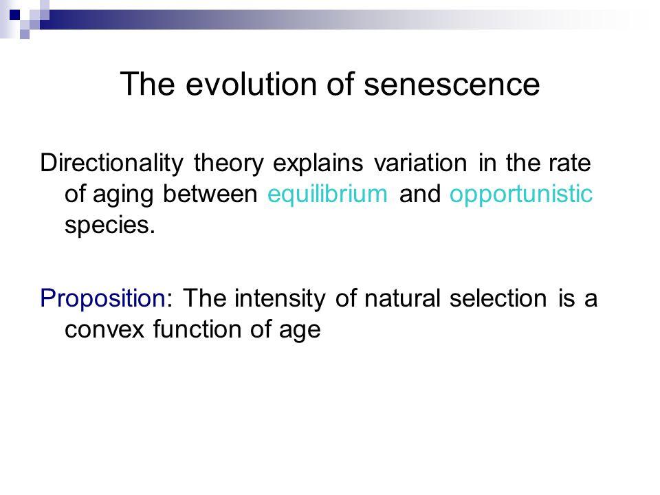 The evolution of senescence