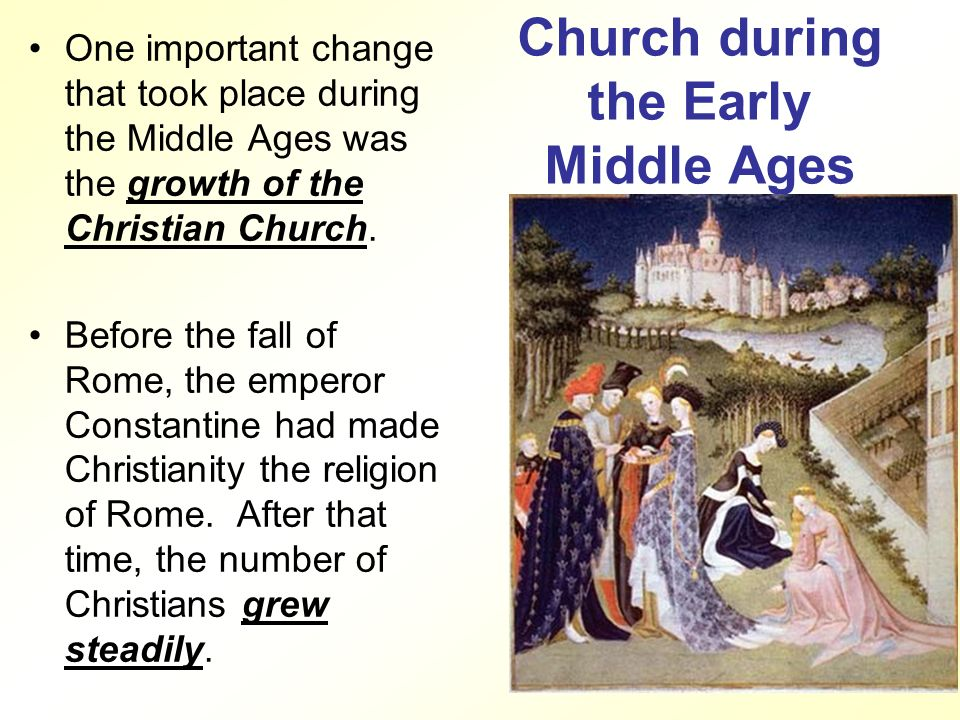 an analysis of the importance of religion in the middle ages Stained glass windows also served an important function with respect to the  congregation's understanding of religion during the middle ages, most people.