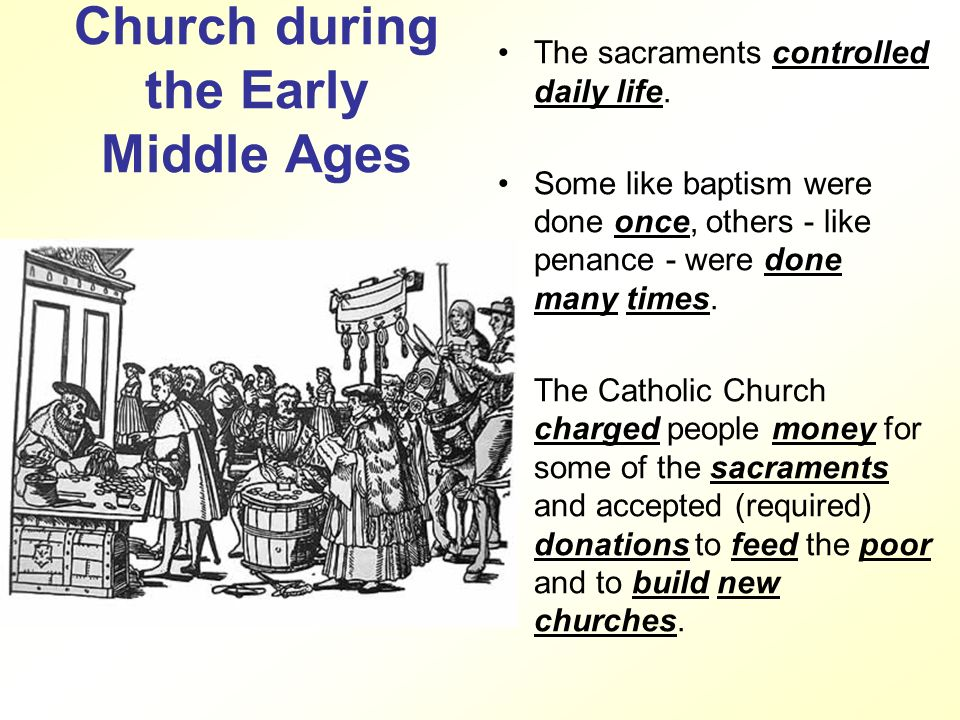 an analysis of catholic church during middle ages Without meaning to be irreverent, it is fair to say that in the middle ages, at the  height of its political and economic power, the roman catholic church  functioned.