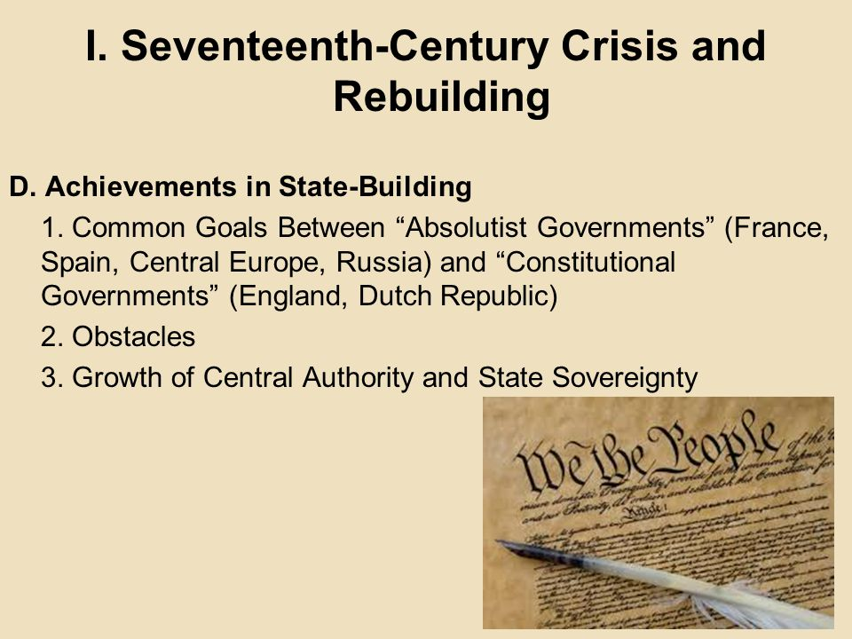 Constitutionalism in England in the 17th Century Essay