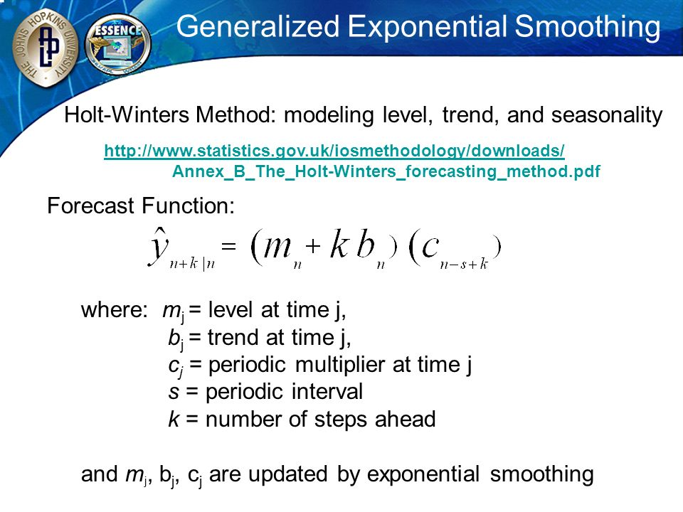 Generalized Exponential Smoothing