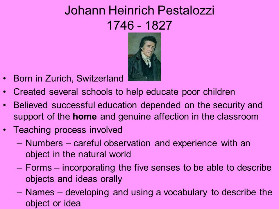 pestalozzi philosophy of education pdf