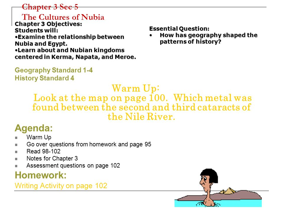 explain the relationship between egypt and nubia