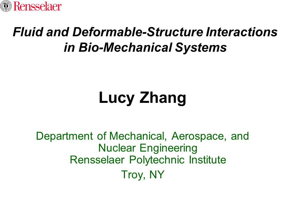 Fluid and Deformable-Structure Interactions in Bio-Mechanical Systems
