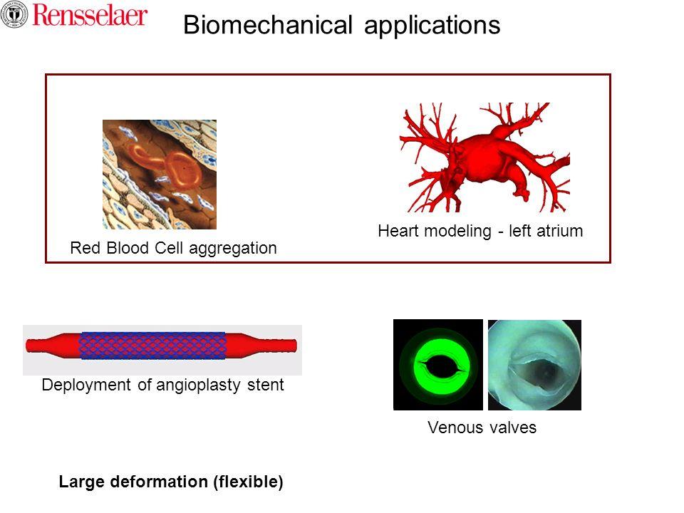 Biomechanical applications