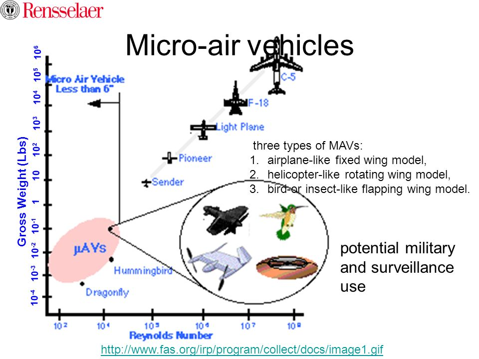 Micro-air vehicles potential military and surveillance use