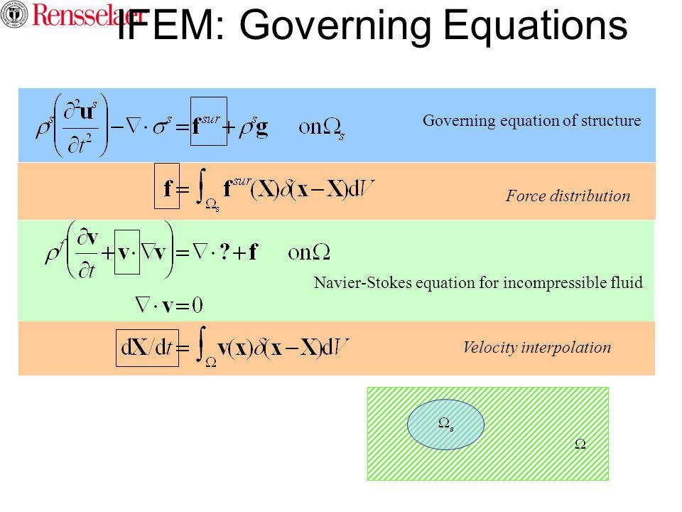 IFEM: Governing Equations