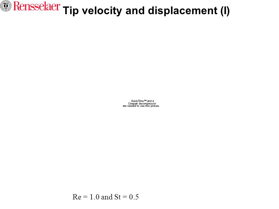 Tip velocity and displacement (I)