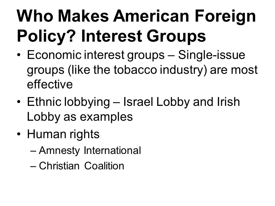 interest groups christian coalition At the urging of a broad coalition of interest groups associated with the disability, civil rights before long, the christian coalition, antitax groups.