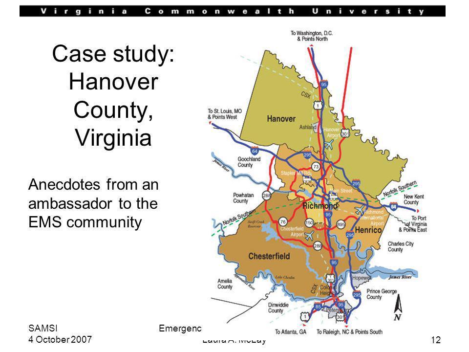 Case study: Hanover County, Virginia