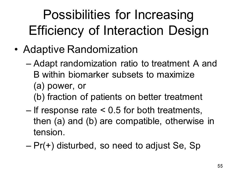 Possibilities for Increasing Efficiency of Interaction Design