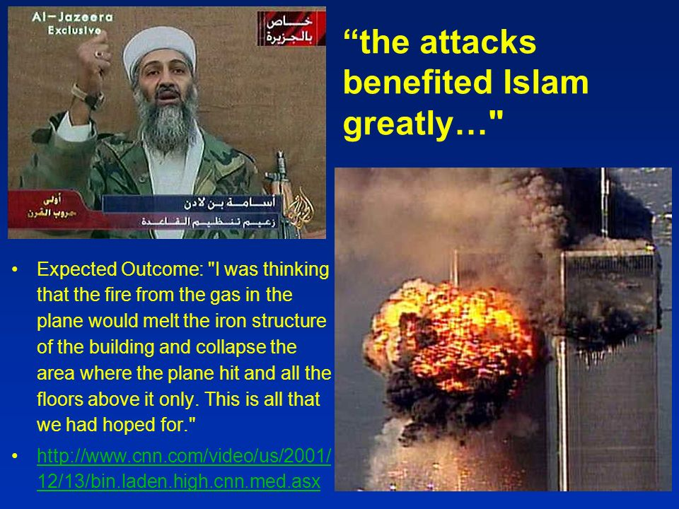 the attacks benefited Islam greatly…