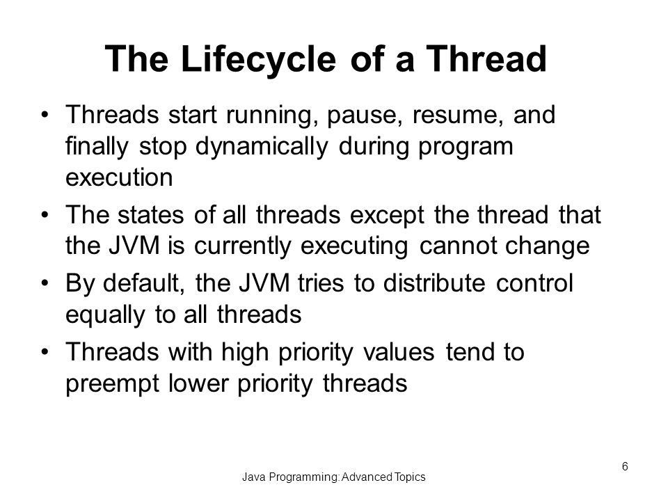 java programming advanced topics ppt download