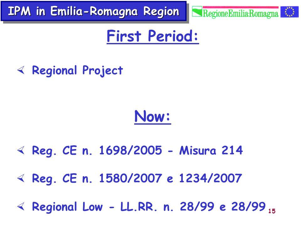 IPM in Emilia-Romagna Region