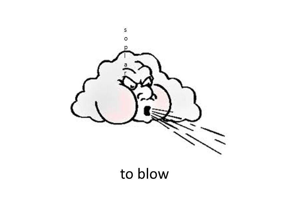 to blow soplar