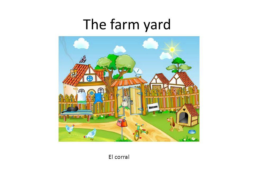The farm yard El corral