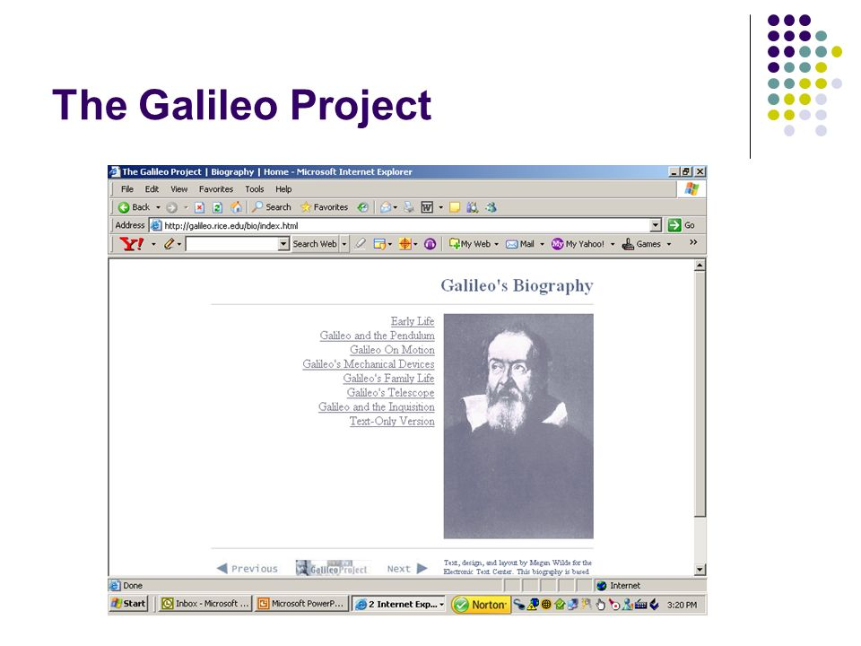 The Galileo Project