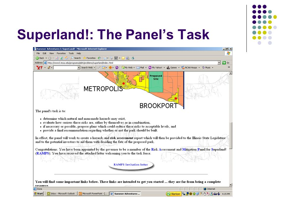 Superland!: The Panel's Task