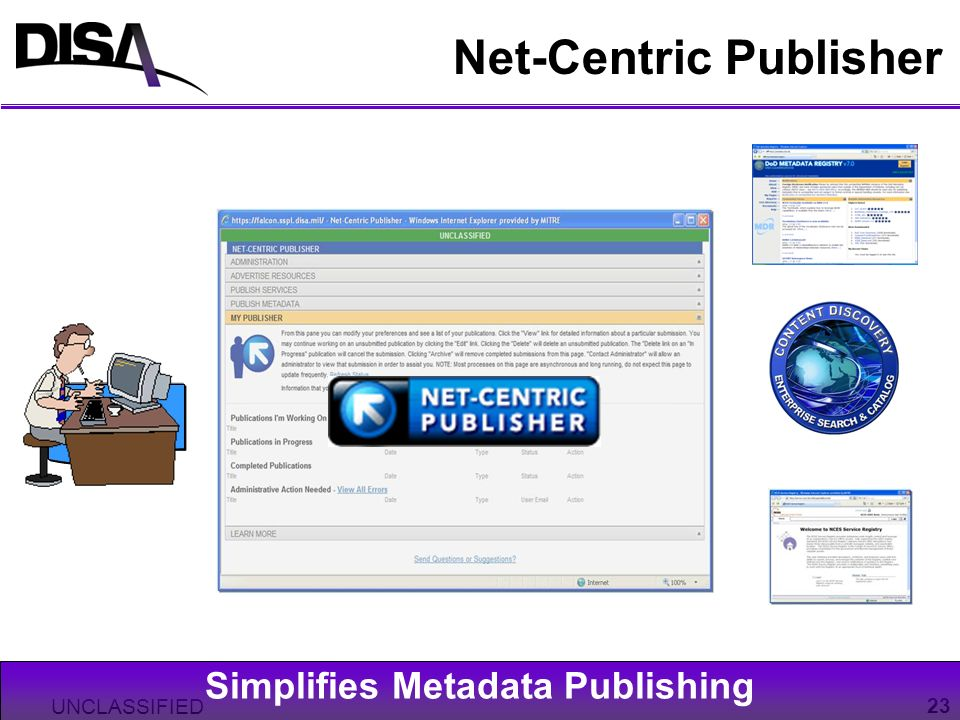 Net-Centric Publisher