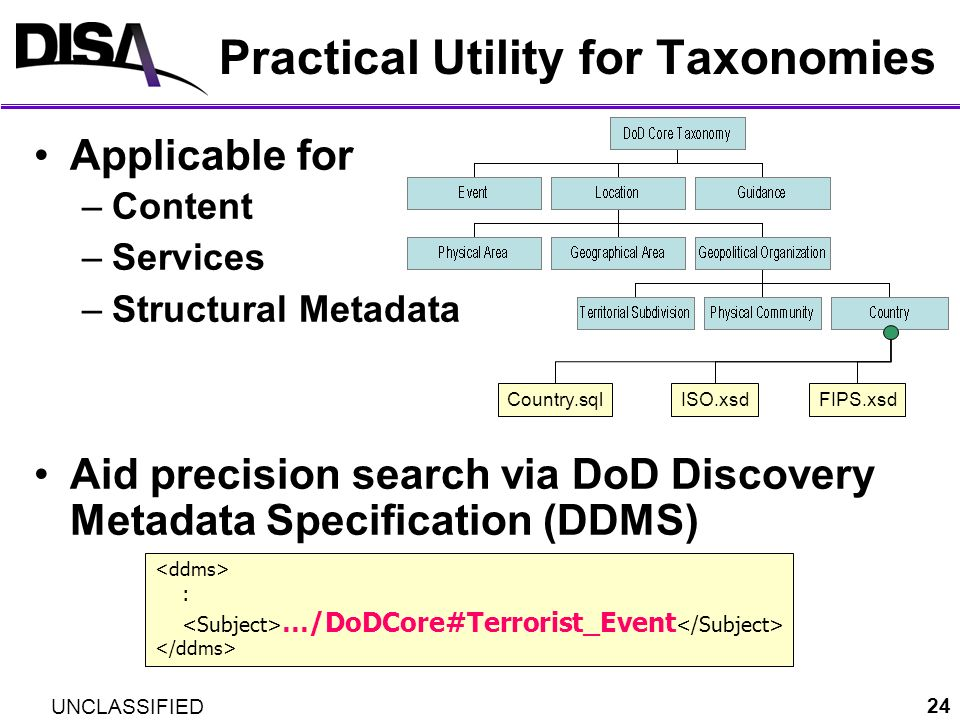 Practical Utility for Taxonomies