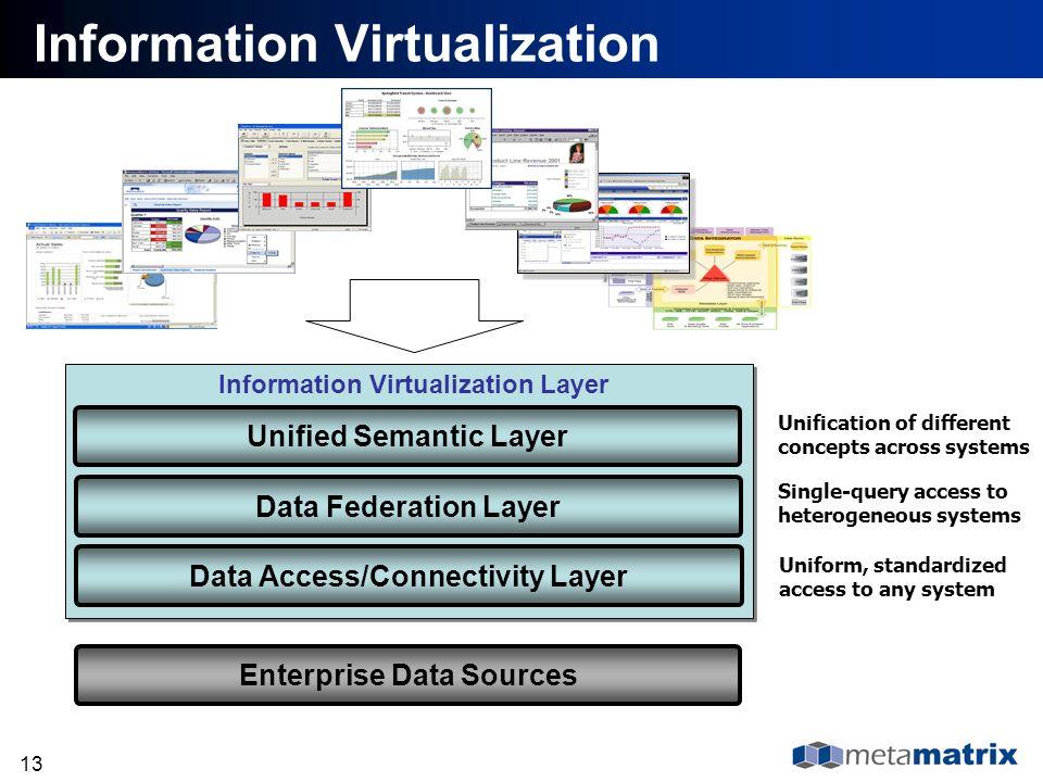 Information Virtualization