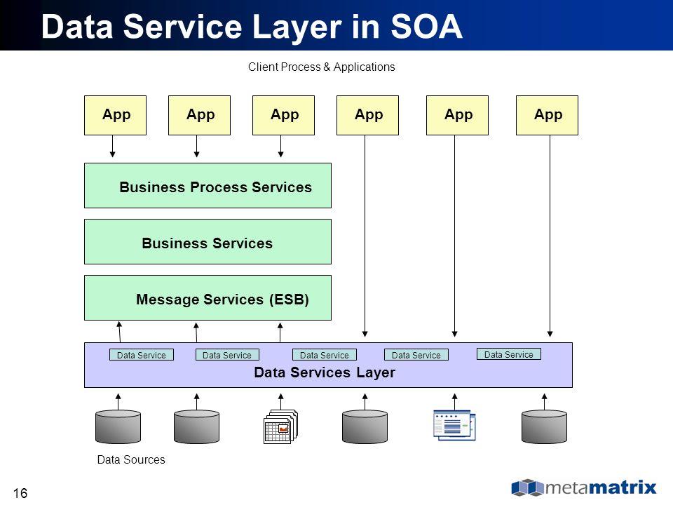 Data Service Layer in SOA