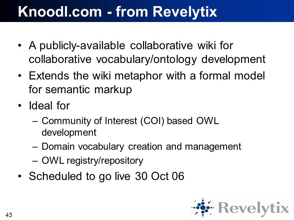Knoodl.com - from Revelytix